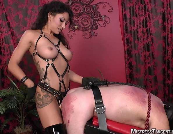 Mistress tangent bisexual domination strapon and torture - 2 part 7